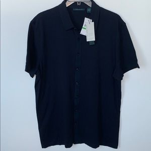 Perry Ellis Button Down Shirt Size Large New